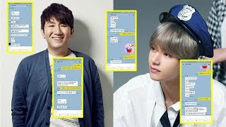 Video Bang Shi Hyuk Reveals SECRET Messages Of BTS About 'The Late Late Show With James Corden' MP3, 3GP, MP4, WEBM, AVI, FLV Agustus 2019