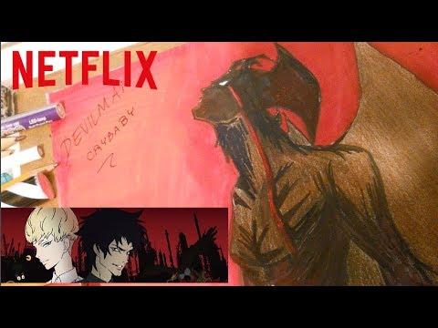 Dibujos de amor - Devilman Crybaby Akira Fudo // Amon ( Speed Drawing ) NETFLIX Serie 2018 - Nyu Ackerman ft. Remix