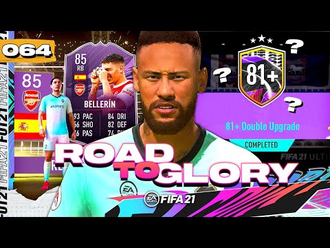 FIFA 21 ROAD TO GLORY #64 - ARE THEY WORTH IT?! 81+ DOUBLE UPGRADE SBC!