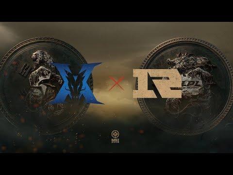 RNG vs. KZ   Finals Game 4   Mid-Season Invitational   Royal Never Give Up vs. KING-ZONE (2018) (видео)