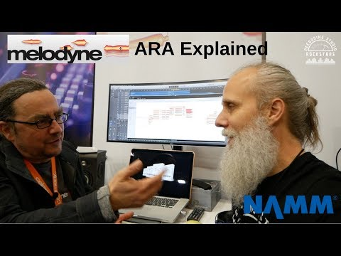 Melodyne 4 ARA Explained! Winter NAMM 2018 with Lij Shaw