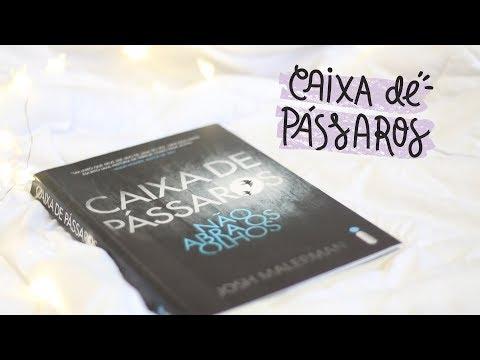 PRIMEIRO VIDEO DO CANAL + RESENHA CAIXA DE PÁSSAROS | Sublinhando