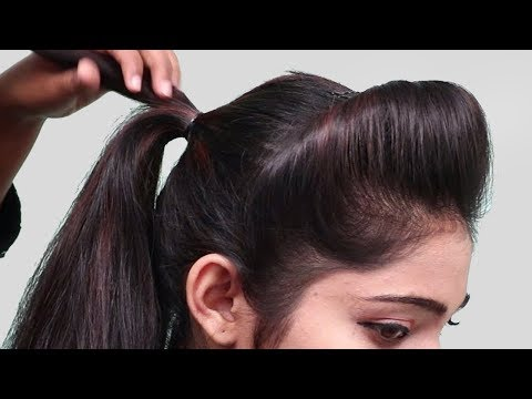 Short hair styles - 5 Minutes party hairstyles for short hair  Easy hairstyles 2018 for girls  hair style girl