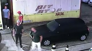 Rio gas station scandal - Surveillance video walks you through