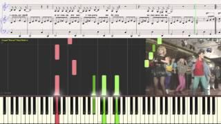 """Белые розы - """"Ласковый май"""" (Ноты для фортепиано) (piano cover)"""