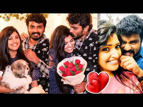 Full Video: Sidhu Romantic Birthday Celebration | Shreya Anchan | Thirumanam Serial, Colors TV