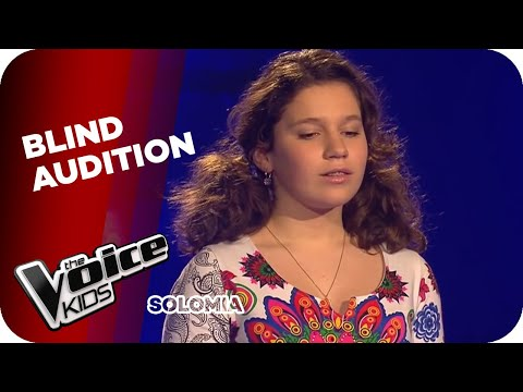 Solomia - Time To Say Goodbye (Voice Kids 2015)