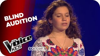 Andrea Bocelli  - Time To Say Goodbye (Solomia) | The Voice Kids 2015 | Blind Auditions | SAT.1 Video