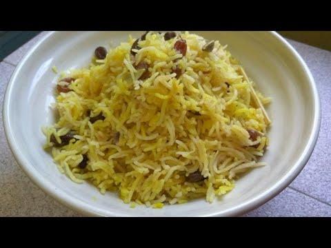 Resepi Nasi Minyak Basmathi