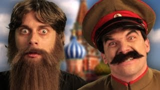 Rasputin vs Stalin. Epic Rap Battles of History