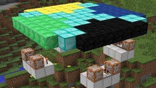 Minecraft Flying Machine