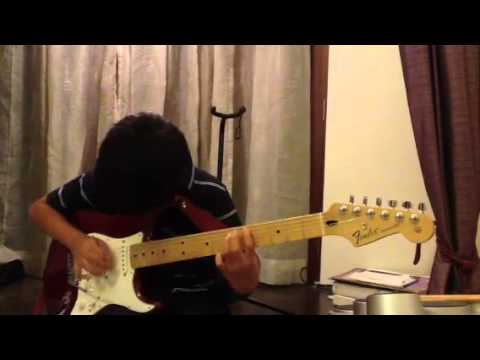 Eleven year old plays  the Blues in Am