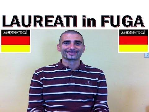 laureati italiani e la loro fuga in germania!