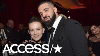 Millie Bobby Brown & Drake Are Total Besties In Epic Golden Globes Photo | Access
