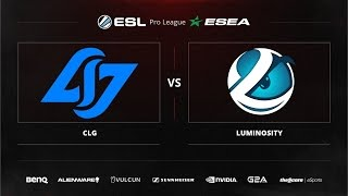 CLG vs Luminosity, game 1