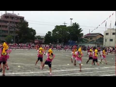東豊田小学校2012エイサー