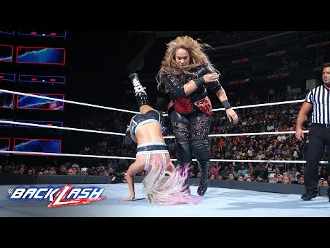 Nia Jax Levels Alexa Bliss With A Crushing Clothesline: WWE Backlash 2018 (WWE Network Exclusive)