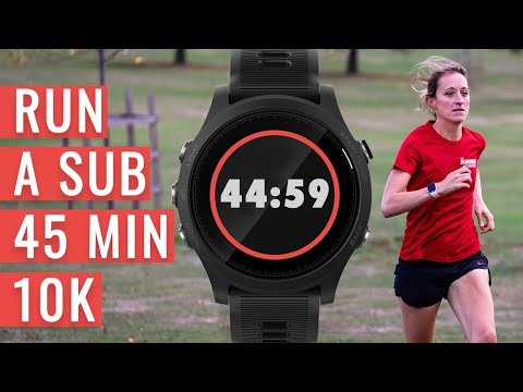 How To Run A SUB 45 MINUTE 10K