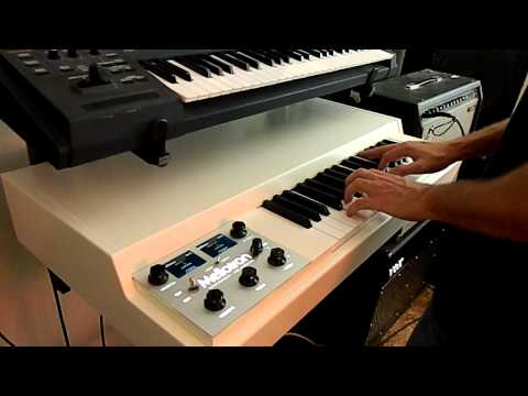 Mellotron - Progulator.com staff member Matt Di Giordano, reviews the Mellotron M4000D, a digital Mellotron machine that Mellotron has been building for the last couple ...