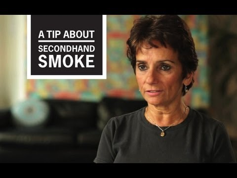 Elle was in her mid-30's when she had her first asthma attack -- triggered by exposure to secondhand smoke. She loved her job as a bartender, but began to dread going to work. In this video from CDC's Tips From Former Smokers campaign she says, I could feel my lungs getting tighter. I knew I couldn't be around the smoke or I was going to die, or something bad was going to happen to me. Eventually Ellie quit her job for the sake of her health, but feels everyone deserves to have a safe and healthy work environment.