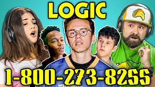 Video ADULTS REACT TO LOGIC - 1-800-273-8255 MP3, 3GP, MP4, WEBM, AVI, FLV Agustus 2018
