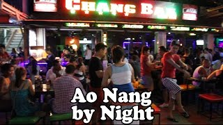 Krabi Thailand  City new picture : Ao Nang Nightlife: Ao Nang Krabi Thailand by Night. Restaurants, Bars, Shopping & Street Food