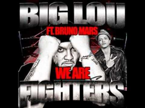 Tekst piosenki Bruno Mars - We Are Fighters (feat. Big Lou) po polsku