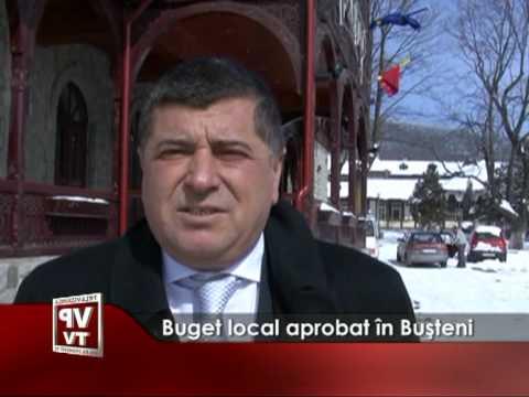 Buget local aprobat în Buşteni