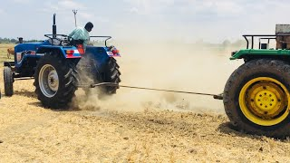 Tractors Race Videos  ACE vs john deere / Tractors tochan - Come To Village