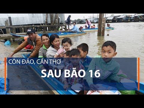 Côn Đảo, Cần Thơ sau bão 16 | VTC1 - Thời lượng: 3 phút, 57 giây.
