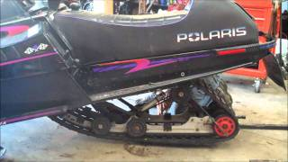 7. How To: Rear Suspension Removal (snowmobile)