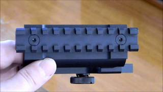 My initial evaluation of the I.O. scope mount for the AK-47.