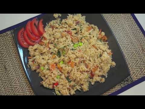 Thai Fried Rice Recipe Video