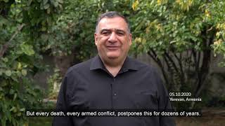Ruben Vardanyan's message to Vladimir Putin and to the world community.