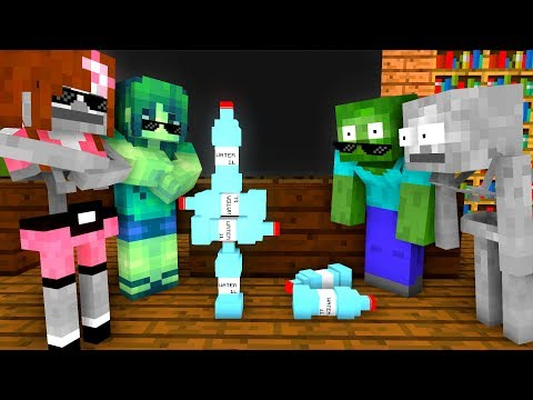 Monster School : BOTTLE FLIP Challenge - Minecraft Animation - Thời lượng: 14:08.