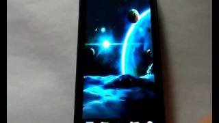 Universe 3d live wallpaper YouTube video