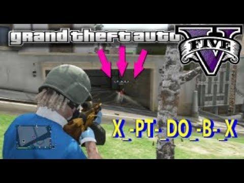 GTA V ONLINE PS3  X_- PT-_ DO_- B-_ X  COMANDO BASE SOFRENDO  NA SESSAO (видео)