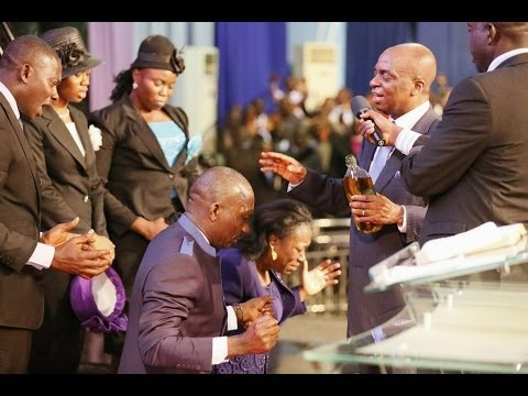 Bishop Oyedepo DRASTIC! IMPARTATION Dr Paul Enenche at Dunamis HQ