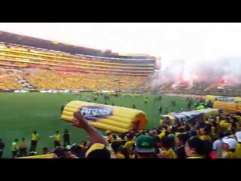 Explota el Monumental !!! Se acaba el partido y todo el Ecuador grita Barcelona Campeón - Sur Oscura - Barcelona Sporting Club - Ecuador - América del Sur