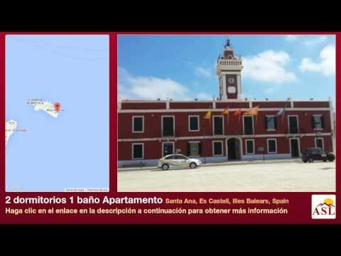 2 dormitorios 1 baño Apartamento se Vende en Santa Ana, Es Castell, Illes Balears, Spain