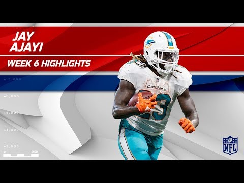 Video: Jay Ajayi's Big Day w/ 26 Carries & 130 Yards! | Dolphins vs. Falcons | Wk 6 Player Highlights