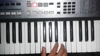 Debo correr Julio Elias melodía en teclado nota fa mayor DSRPianista