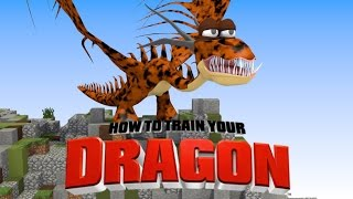 "Minecraft | How To Train Your Dragon Ep 5! ""NIGHTMARE DRAGONS"""