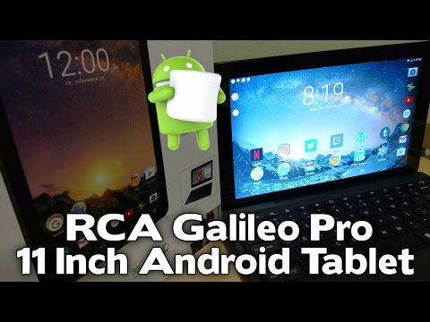 RCA Galileo Pro Android Tablet [REVIEW]
