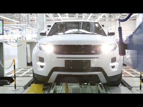 Range Rover Evoque B&#246yle &#220retiliyor