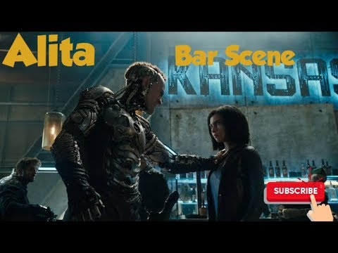 Alita vs Hunter Warriors in bar
