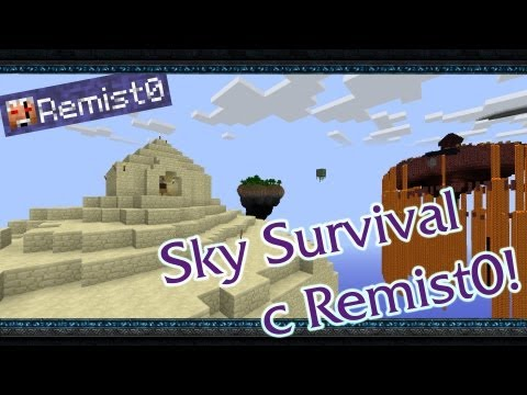 Встреча с Боссом. Minecraft. Sky Survival.