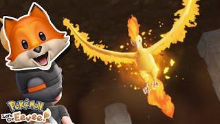 MOLTRES!! | Pokémon Let's Go Eevee + Pikachu
