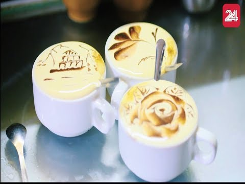 Đến Hà Nội, ngoài phở hay bún chả thì cà phê trứng cũng là món hấp dẫn ở Hà Nội @ vcloz.com