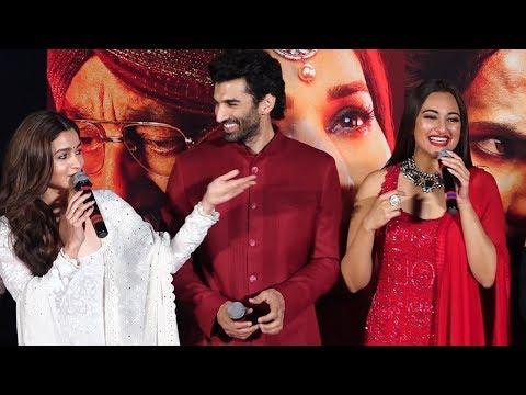 Funny Moments At KALANK Teaser launch -  Varun Dhawan | Aditya Roy | Sanjay Dutt | Alia | Sonaksh